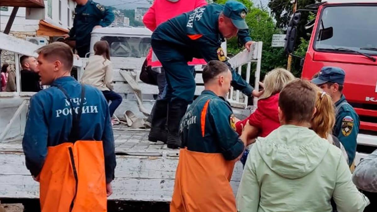 МЧС потоп эвакуация
