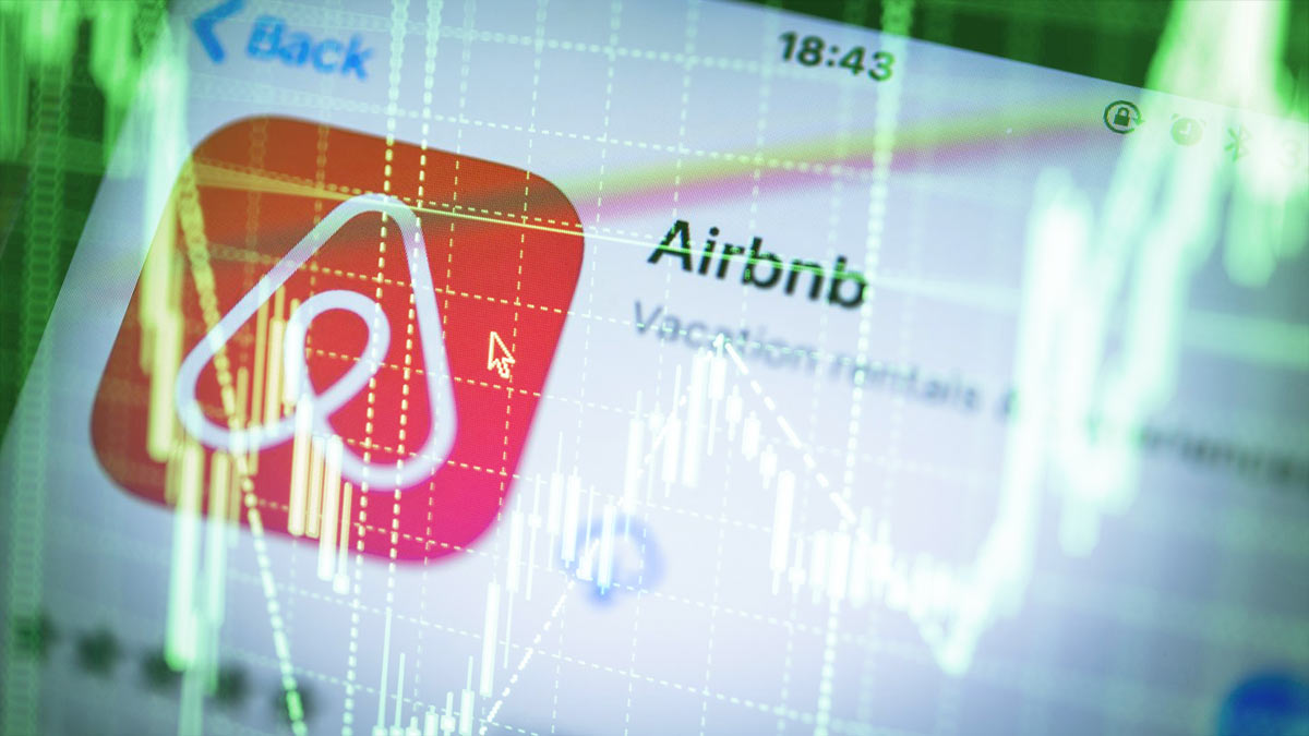 Airbnb рост акций