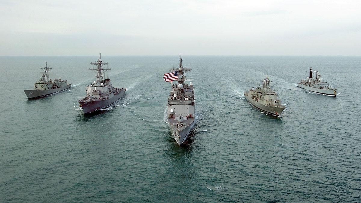 Эскадренные миноносцы с управляемым ракетным оружием Арли Бёрк флот США