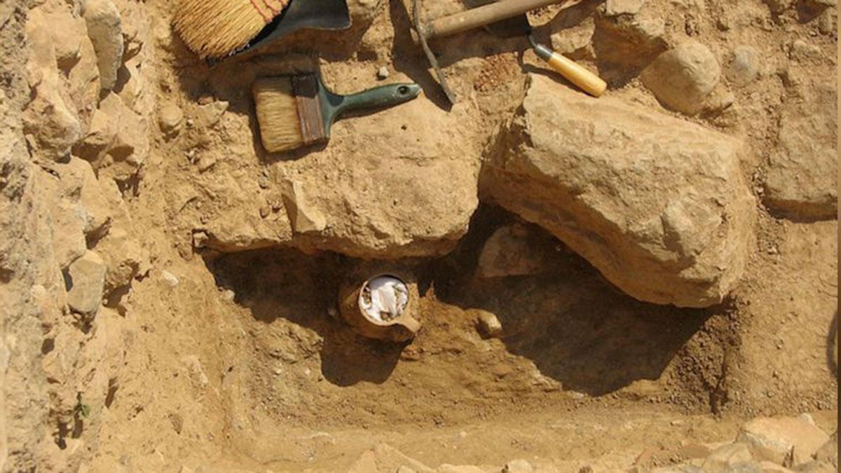 Раскопки Афинской Агоры керамический сосуд