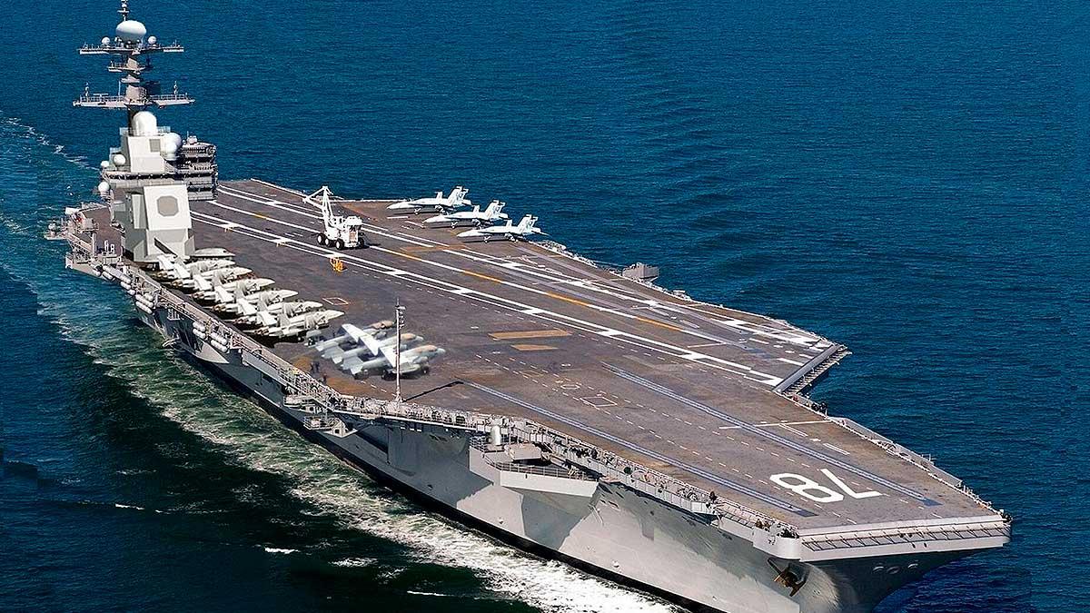 Авианосец ВМС США Джеральд Форд CVN-78