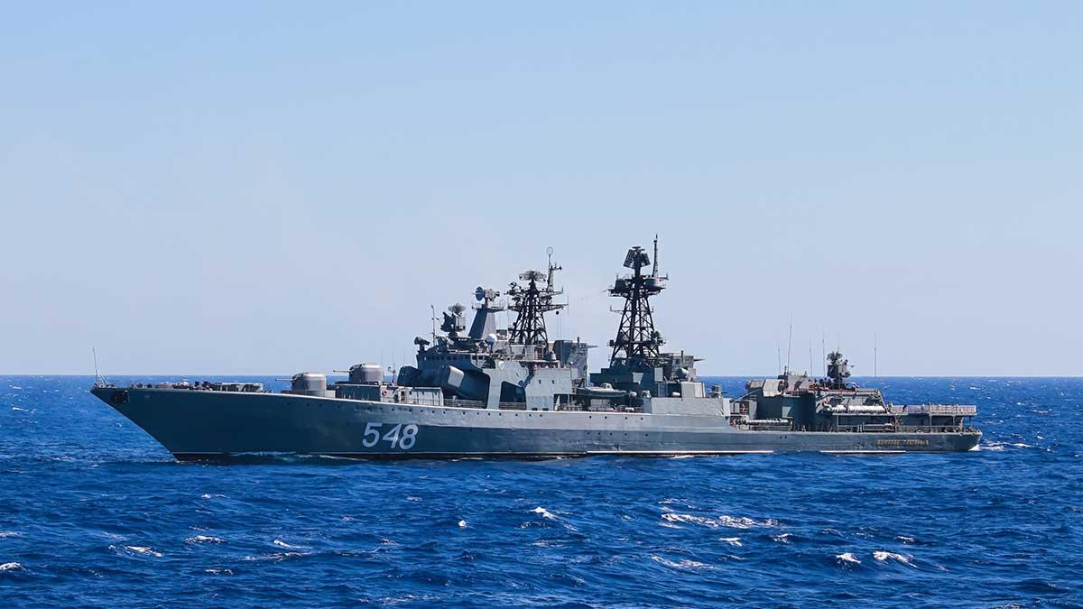 корабль «Адмирал Пантелеев»