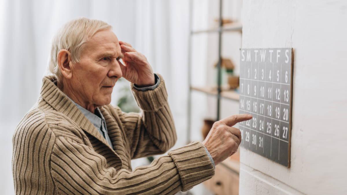 Деменция болезнь Альцгеймера плохая память забывчивость старик