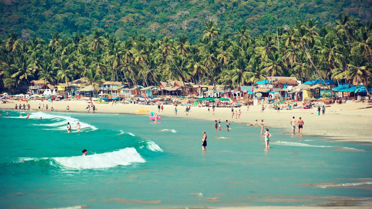 Гоа Индия пляж туризм