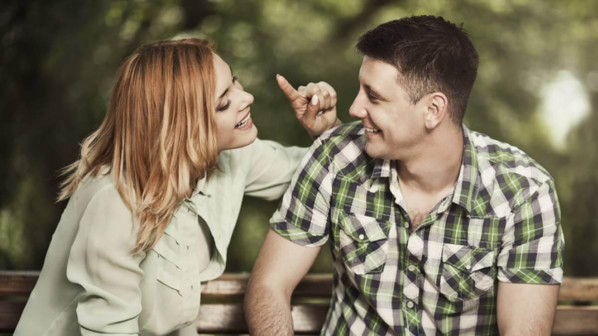 Молодая пара хорошие отношения