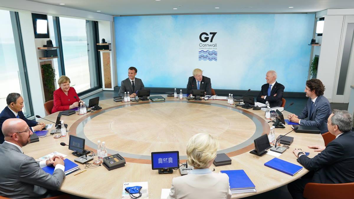 Саммит G7 Великобритания Карбис-Бэй