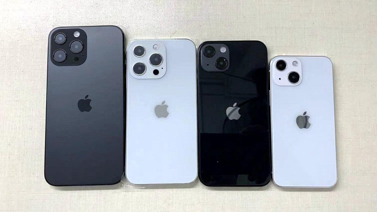 Внешний вид всех моделей iPhone 13