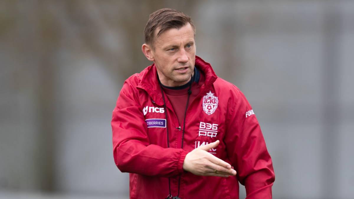 Футбольный тренер Ивица Олич