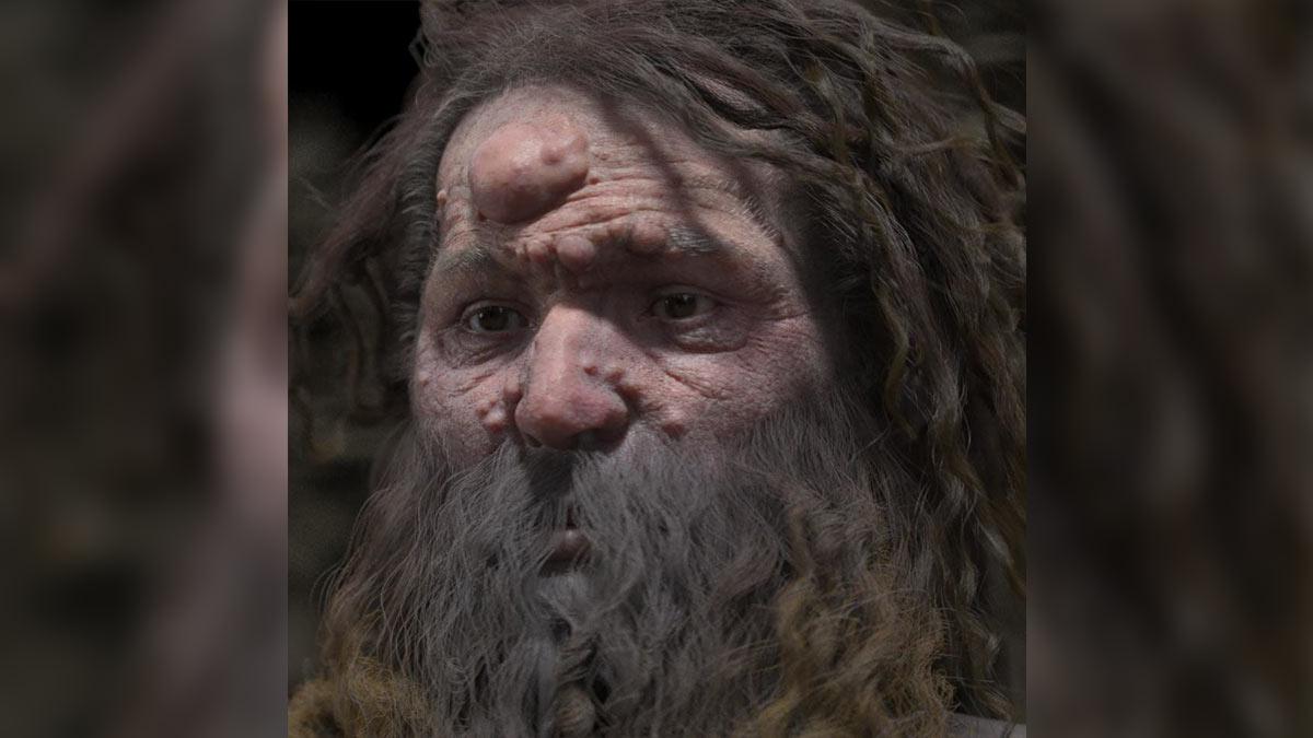 человек, живший 28 000 лет назад