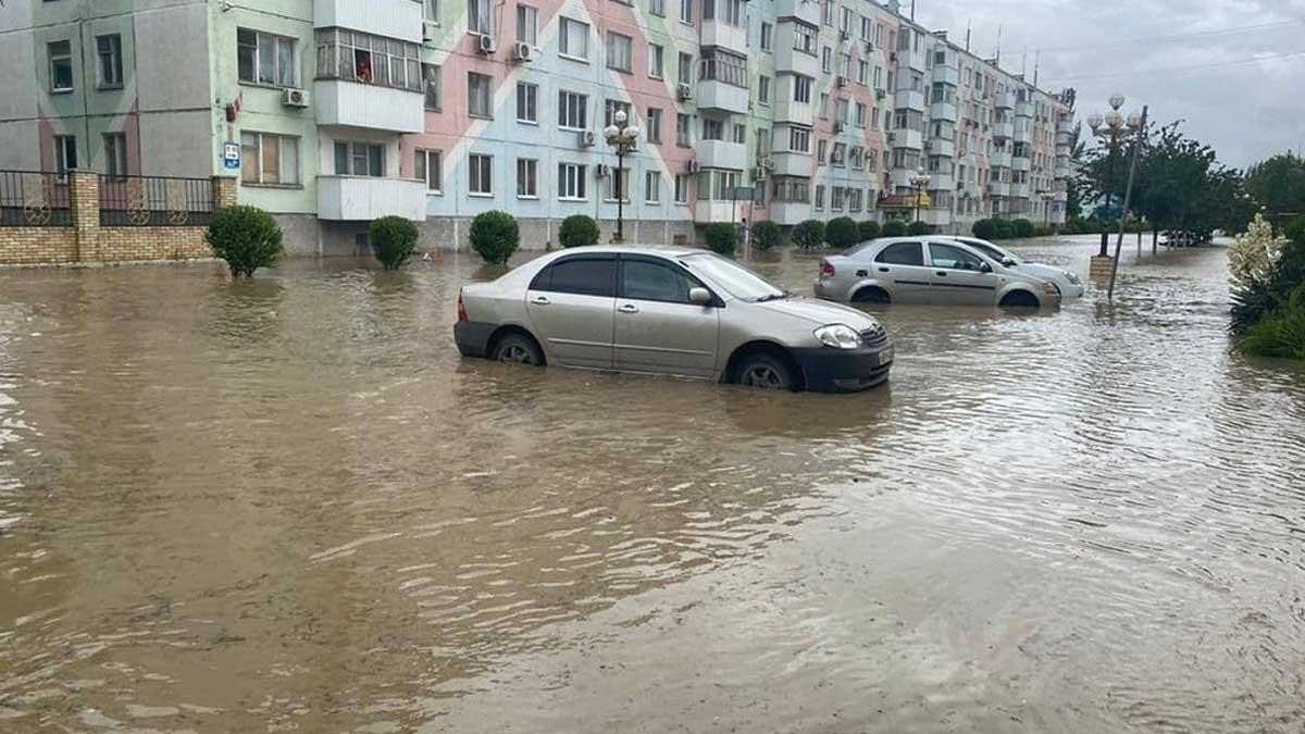 Обильные дожди вызвали потоп на востоке Крыма