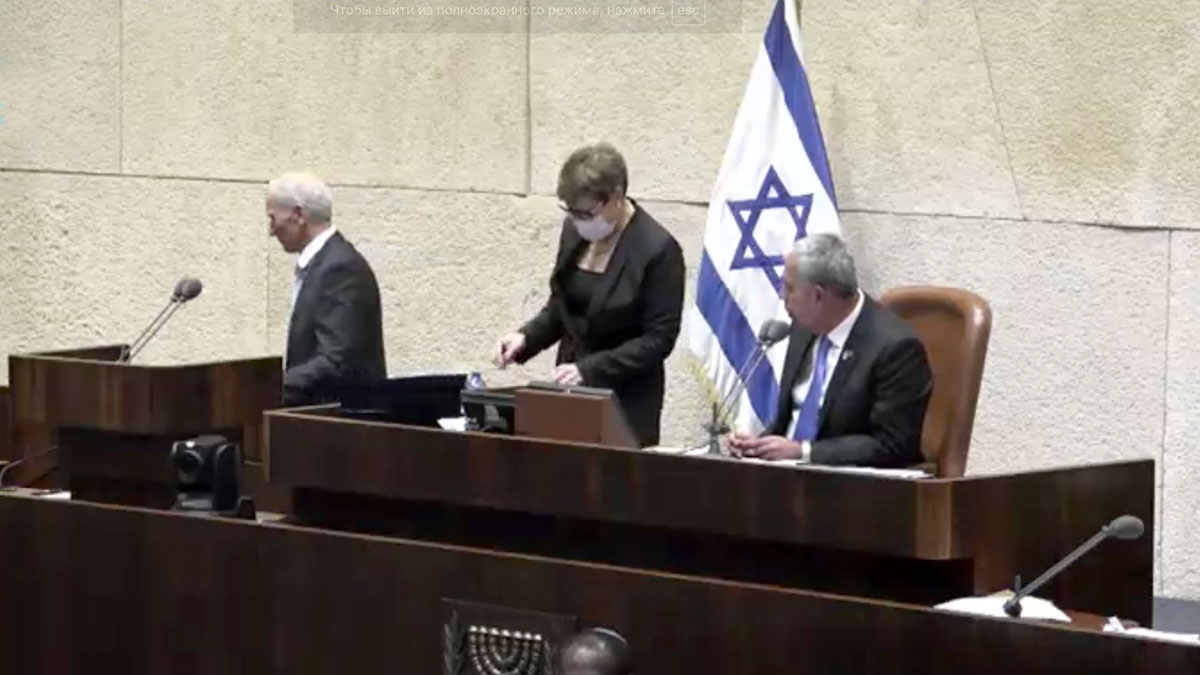 Кнессет израиль заседание