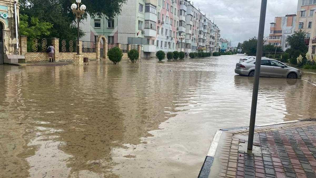 Крым потоп
