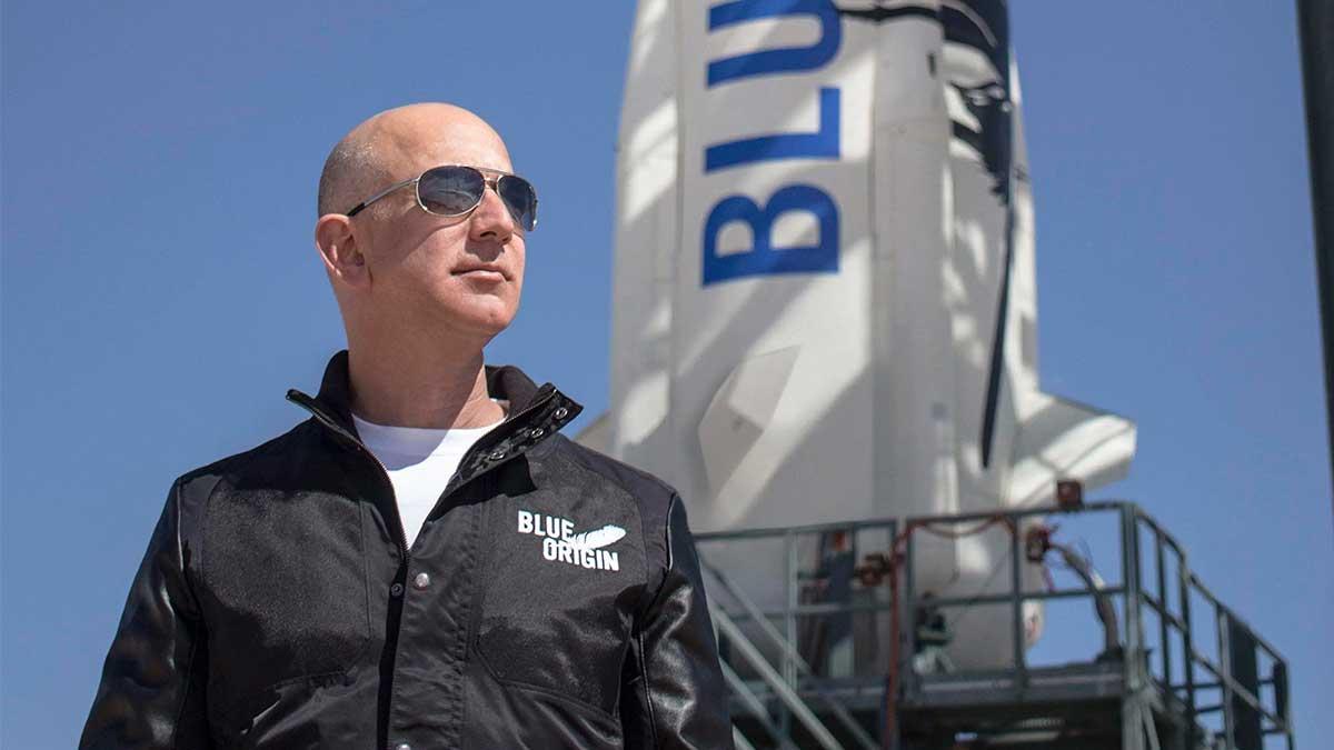 Джефф Безос Blue Origin