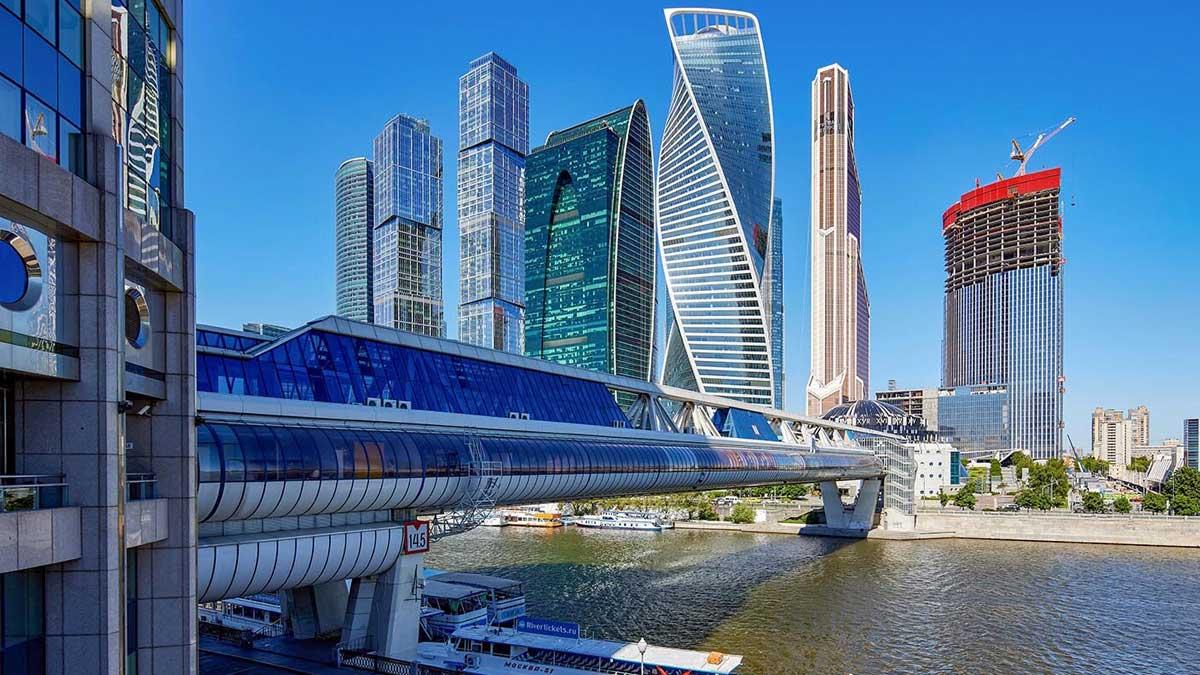 Москва город фон
