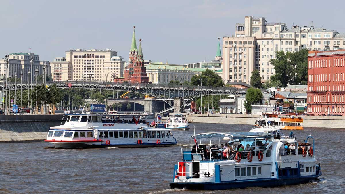 Москва солнце