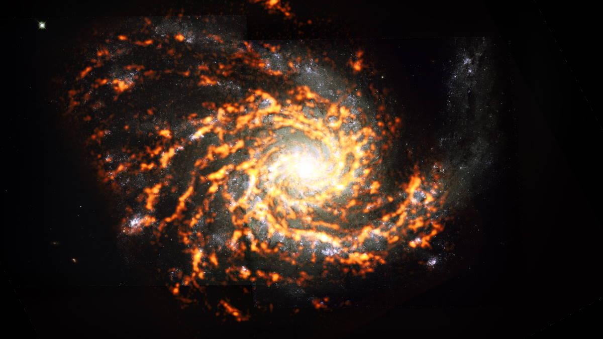 Галактика NGC4254