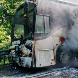 Два автобуса с детьми столкнулись в Краснодарском крае