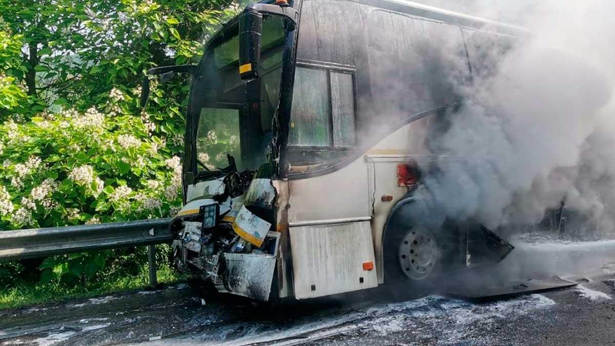 На Кубани столкнулись два автобуса
