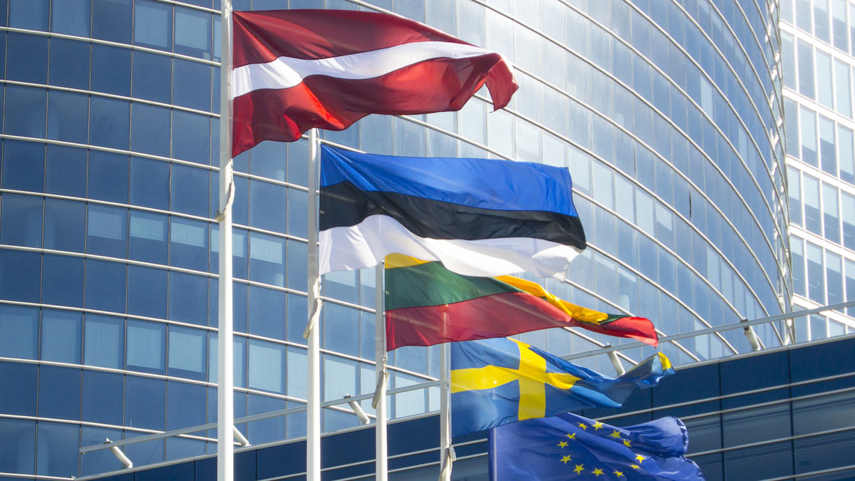 флаги государств Евросоюз