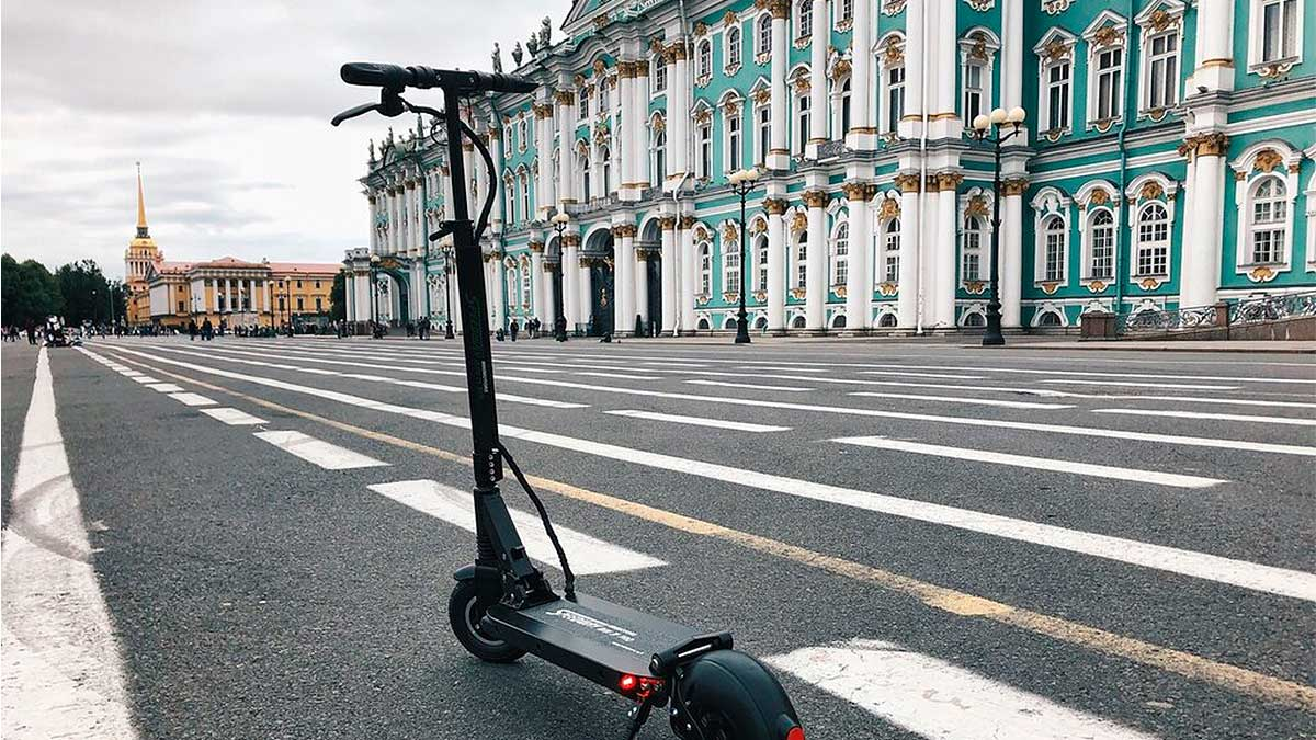 Прогулка по Петербургу на электросамокате