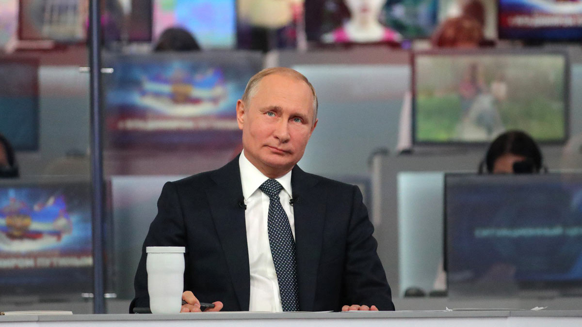 Прямая Линия Владимир Путин