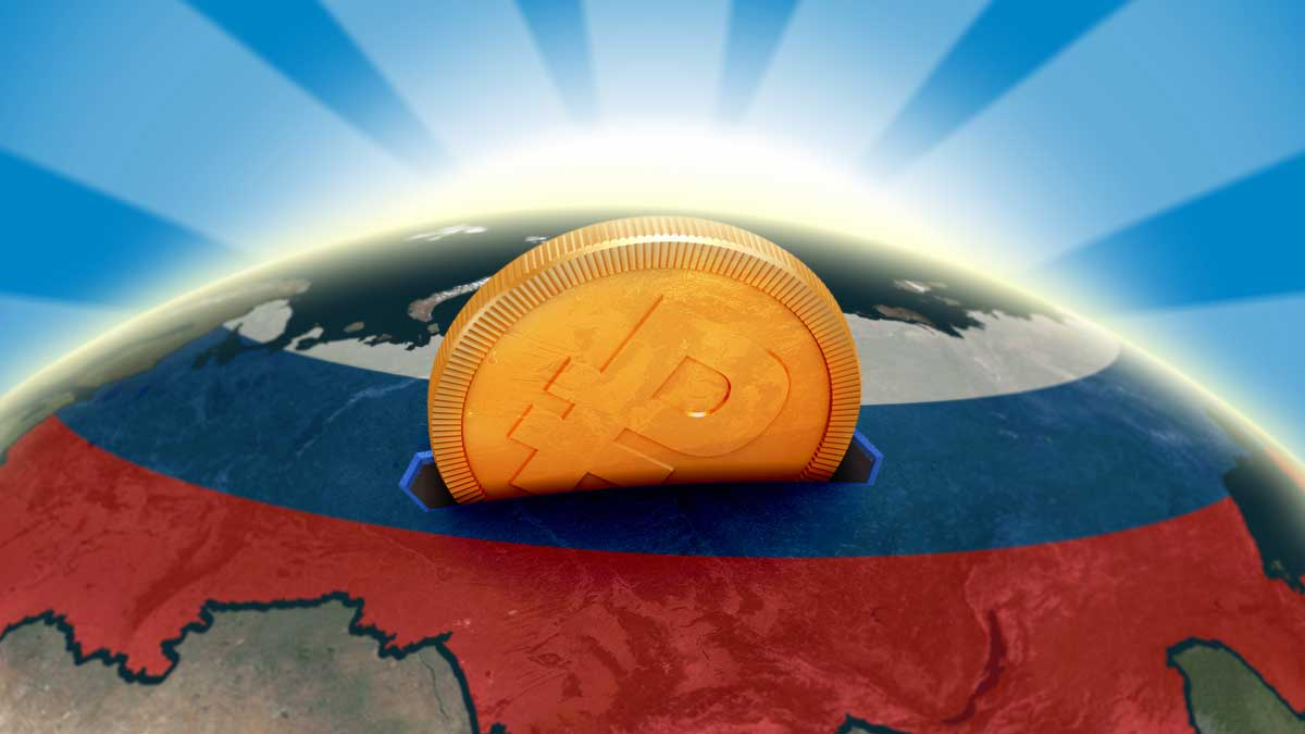 Россия монета планета