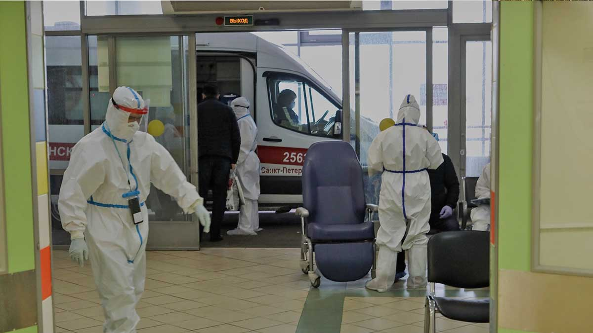 Санкт-Петербург коронавирус скорая помощь