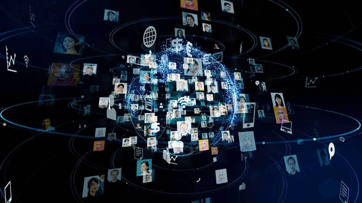 Социальные сети фон телефон компьютер вай-фай