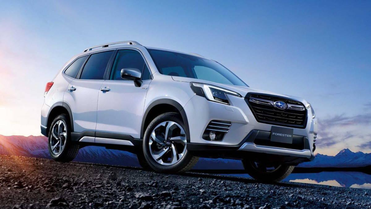 Subaru Forester 2022 года