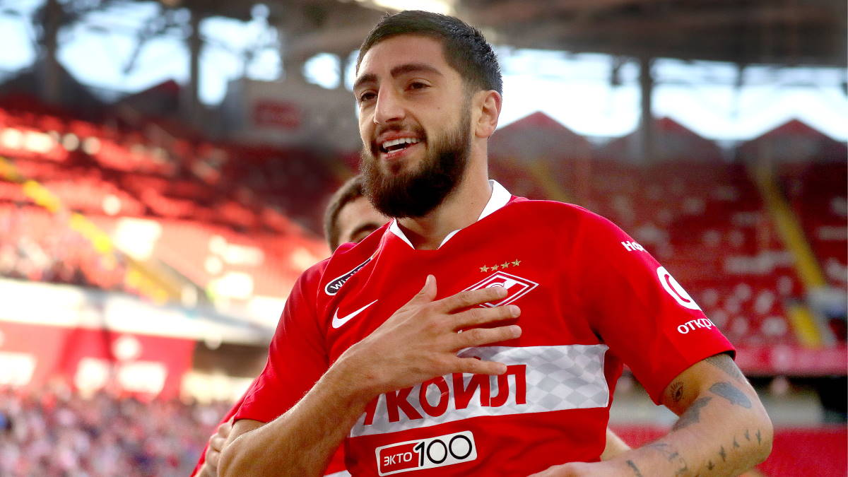 Футболист Самуэль Жиго