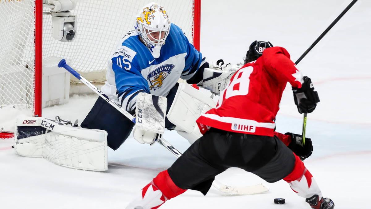 Сборные Канада - Финляндия хоккей