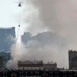 Пожар на пиротехническом складе в Москве. Главное