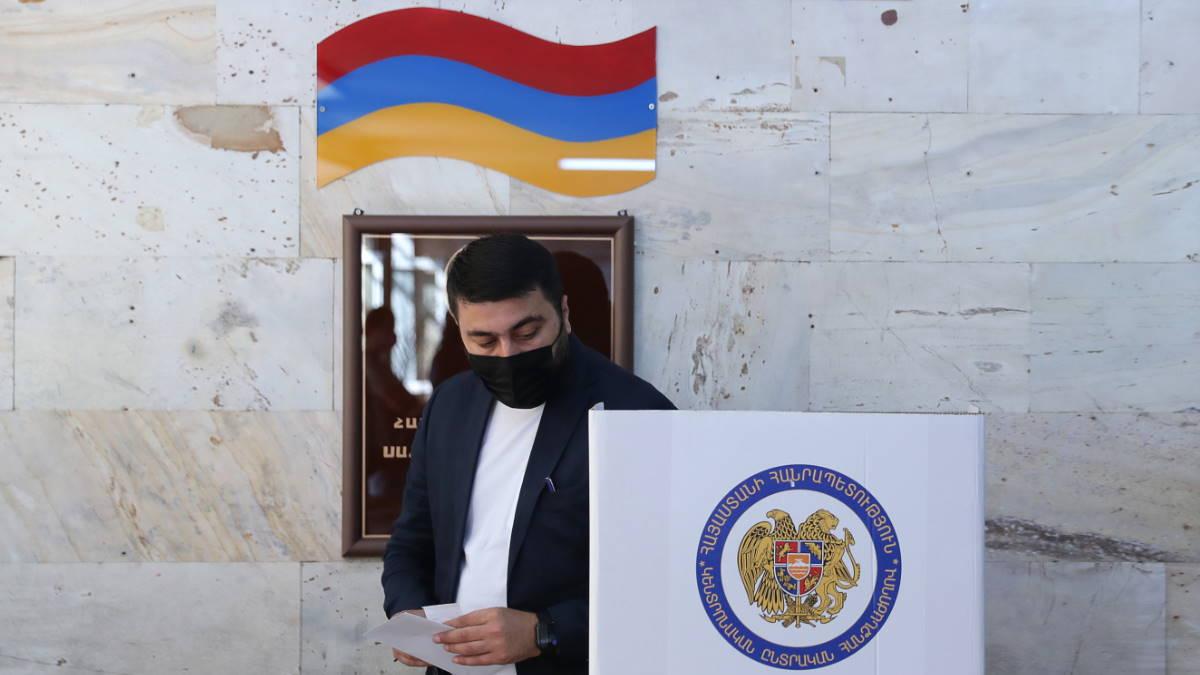 Армения голосование выборы