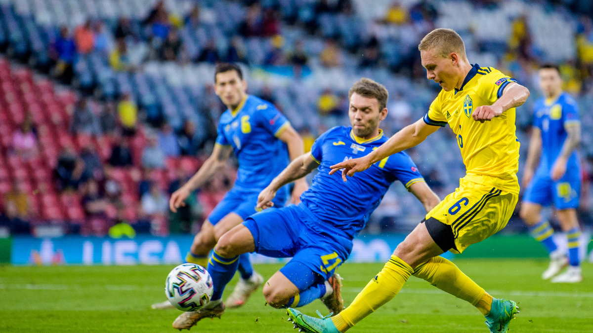 Швеция - Украина футбол
