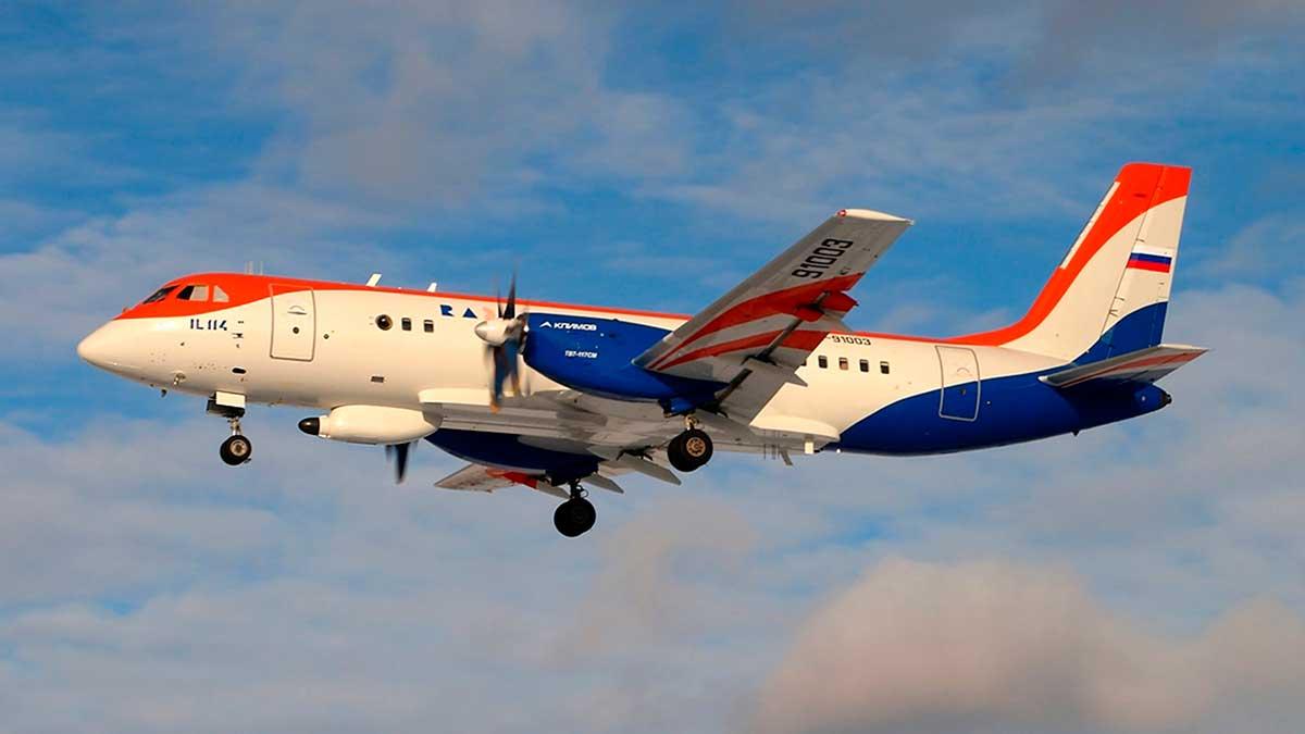 Турбовинтовой самолет Ил-114-300