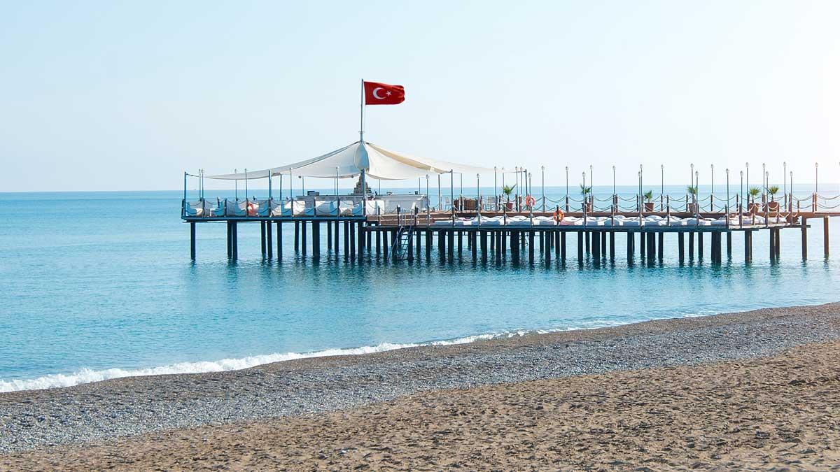 Турция пристань