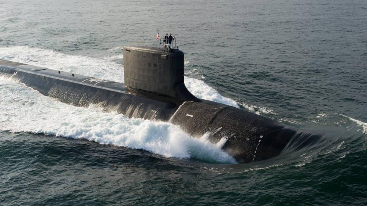 Американская подводная лодка типа Virginia USS North Dakota SSN-784