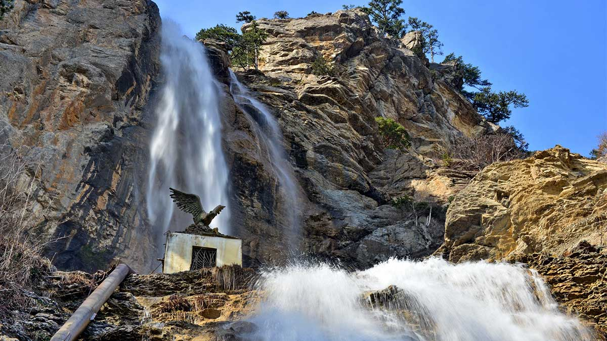 Учан-Су Водопад в Крыму