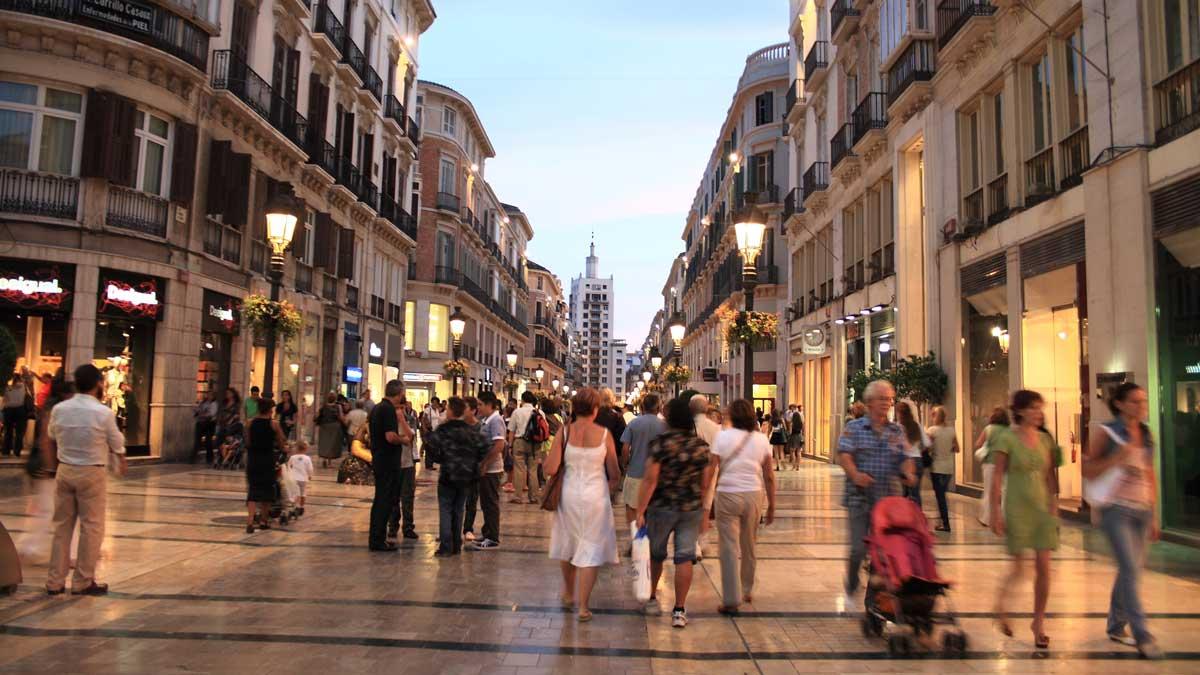 Улица Лариос, Малага, Испания