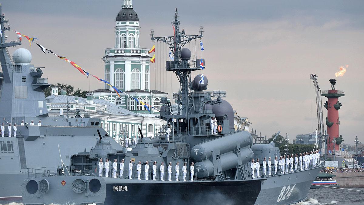 День ВМФ празднование в Санкт-Петербурге