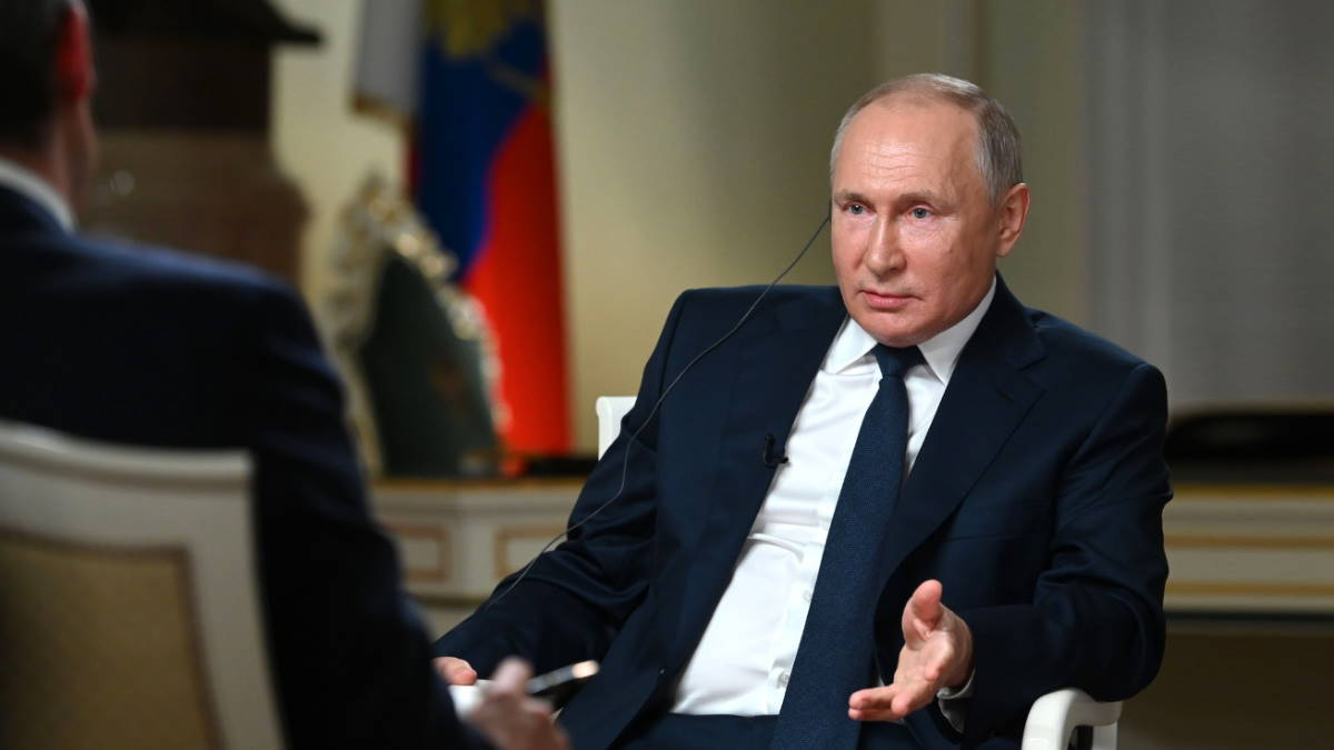 Владимир Путин интервью телеканалу NBC