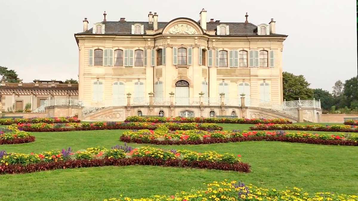 Женева парк Лагранж