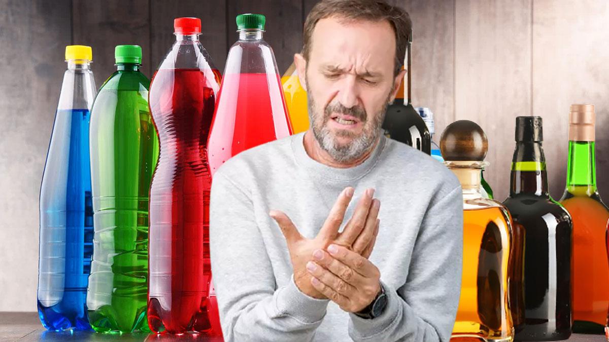 артрит боль в руках алкоголь и сладкие напитки