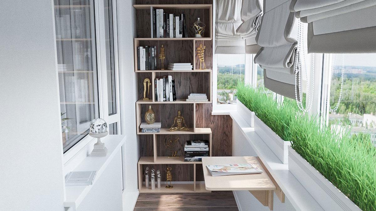 балкон дизайн ремонт лайфхаки