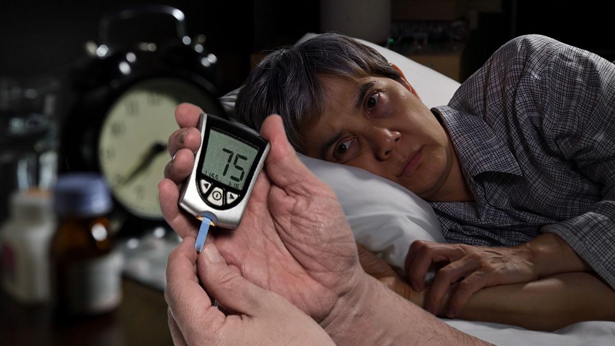 бессонница и повешенный сахар в крови диабет глюкометр