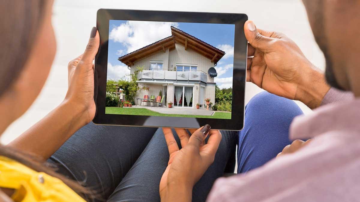 покупка дома онлайн