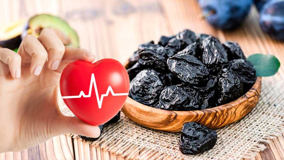 чернослив и сердце