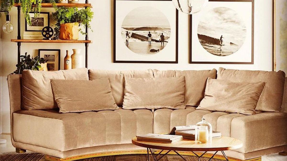 диван сложной формы устаревший