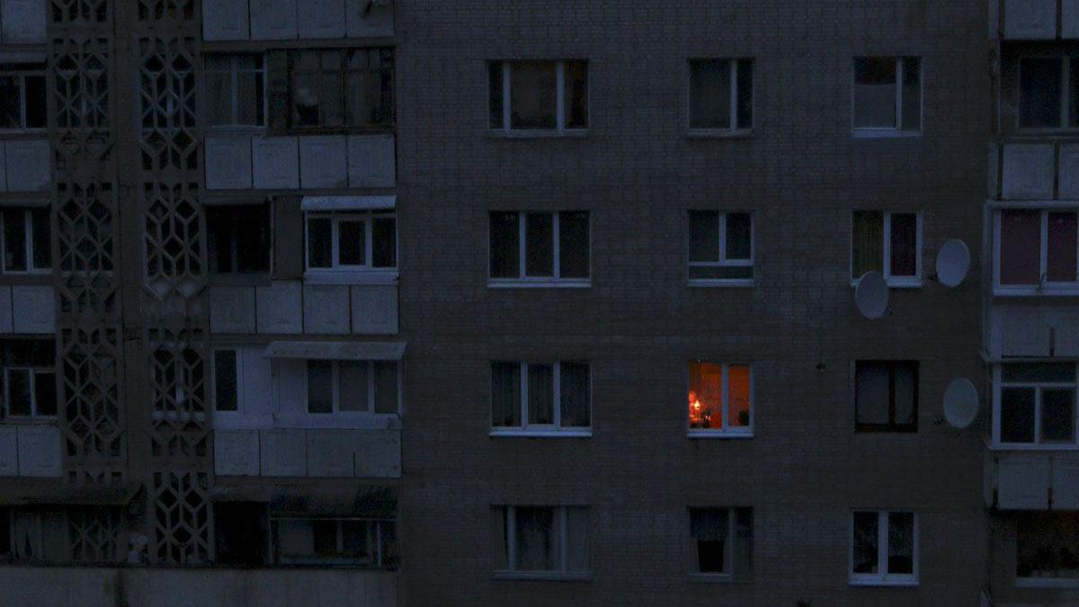 дом без света