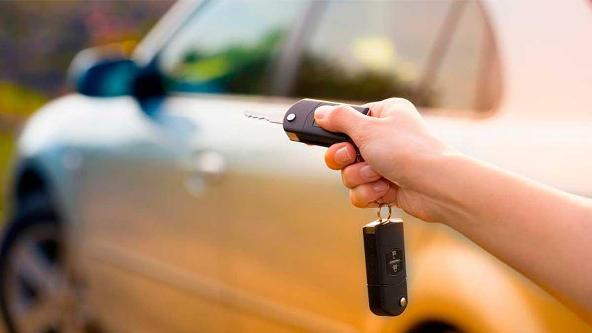 электронный ключ или брелок сигнализации